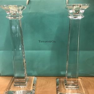 Tiffany & Co Classic Candlesticks NEW IN BOX